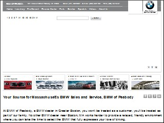 Worksheet. BMW Peabody 221 Andover St Peabody Essex Massachusetts